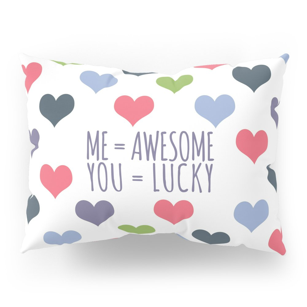 Society6 Lucky In Love Pillow Sham Standard (20'' x 26'') Set of 2