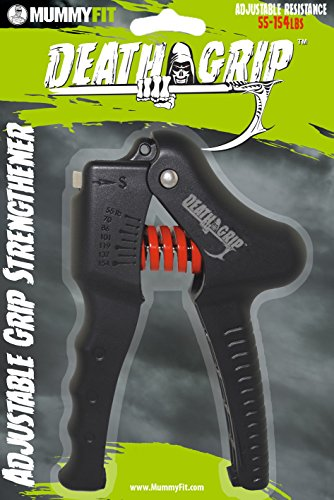 Best Grip Strengthener and Adjustable Hand Exerciser | 55 154 lbs (25 70 kgs) | Bonus Workout Included