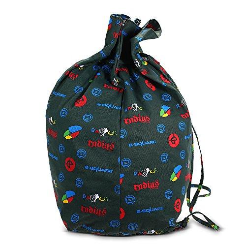 Lixada Drawstring Backpack Skating Equipment Gym Sport Sack Travel Bag for Skate Helmet Knee Brace Guard