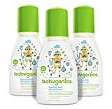 Babyganics Foaming Dish and Bottle Soap, Fragrance Free, On-The-Go...