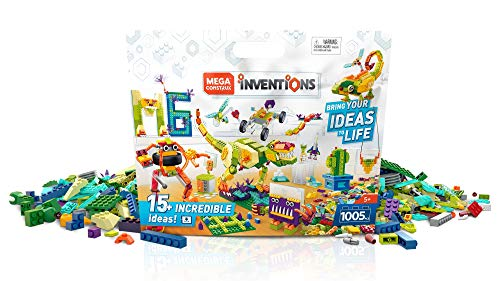 Mega Construx Inventions Deluxe Pack is a top toy for boys ages 6 to 8