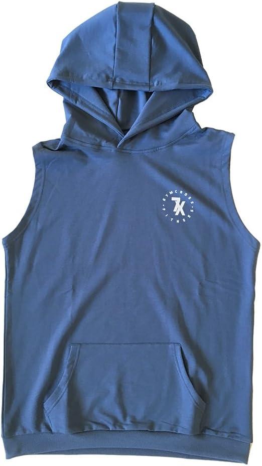 Men/'s Jesus Muscle Black Sleeveless Vest Hoodie Workout Gym Fitness Flex Fit