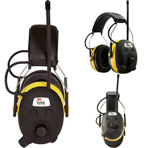 Digital AM FM MP3 Radio Headphones Hearing Protection Ear