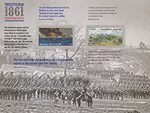 Civil War 1861: Fort Sumter and First Bull Run, Sheet of 12 x Forever Postage Stamps, USA 2011, Scott 4522-23