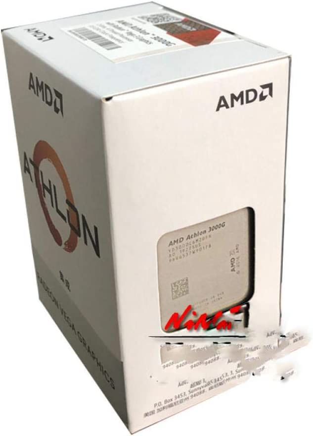 Amd Athlon 3000g X2 3000g 3 5 Ghz Dual Core Quad Thread Cpu Processor Yd3000c6m2ofh Socket Am4 New And Come With The Cooler Amazon Ca Electronics