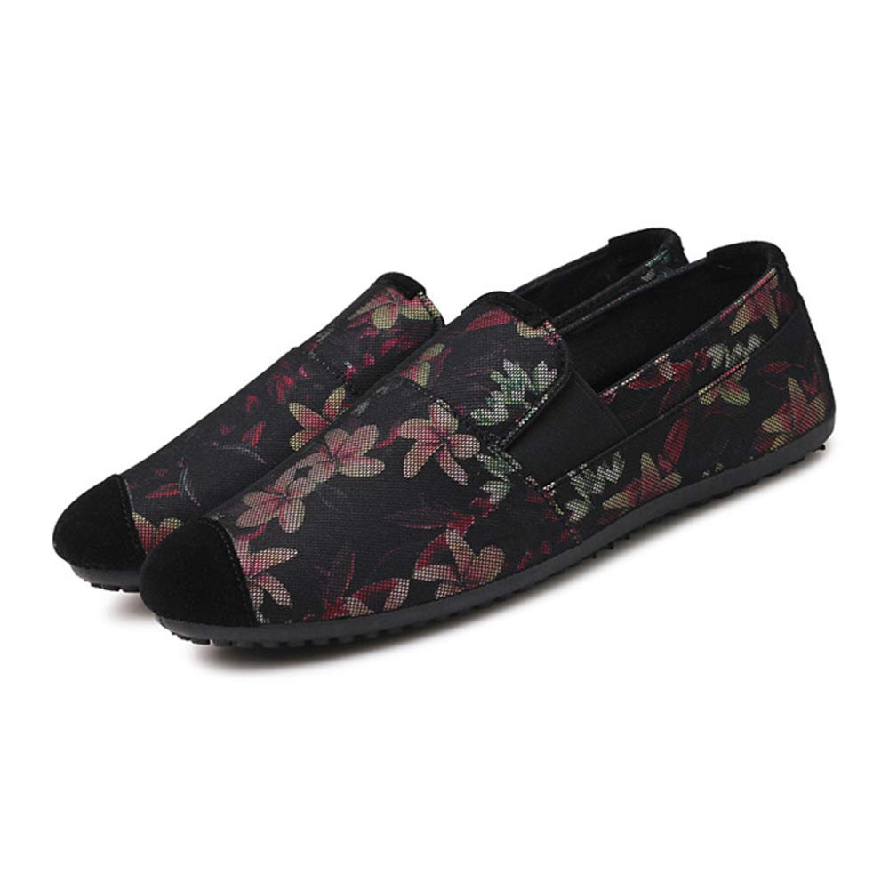 DAN Herren Sommer Erbsen Schuhe Bequeme Freizeitschuhe Freizeitschuhe Freizeitschuhe Deodorant Atmungsaktiv Faule Schuhe Im Freien Erbsen Schuhe Flache Schuhe 462be8