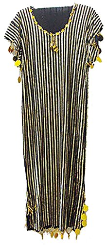 Children Girls Kids Belly Dance NANCY Stretchy Galabeya Dress Costume Baladi (L) - Egyptian Galabeya Costume