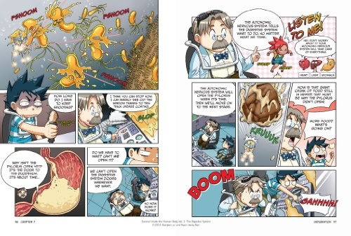 Survive! Inside the Human Body, Vol. 1: The Digestive System by No Starch Press (Image #4)