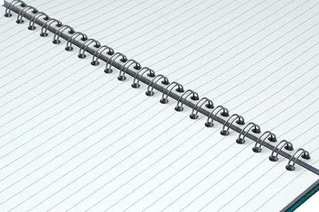 Cerdo rosado A4 cuaderno forrado elegante Eco - negro: Amazon.es ...