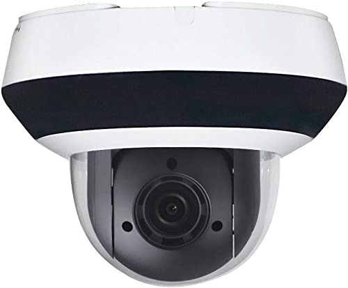4MP PTZ IP Camera Mini Dome,Darkfighter DS-2DE2A404IW-DE3,4X Optical Zoom 2.8mm 12mm