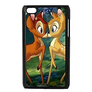 Bambi iPod Touch 4 Case Black present pp001_9648833