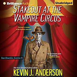 Stakeout at the Vampire Circus Audiobook