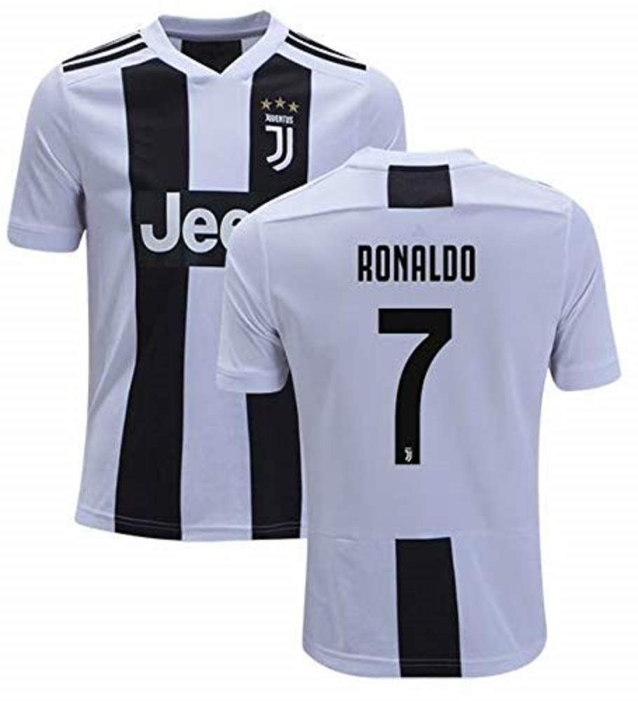 low priced 3c7b7 edb9b Fanatic Cristiano Ronaldo Juventus #7 Men's Soccer Jersey Home Short Sleeve  Adult Sizes