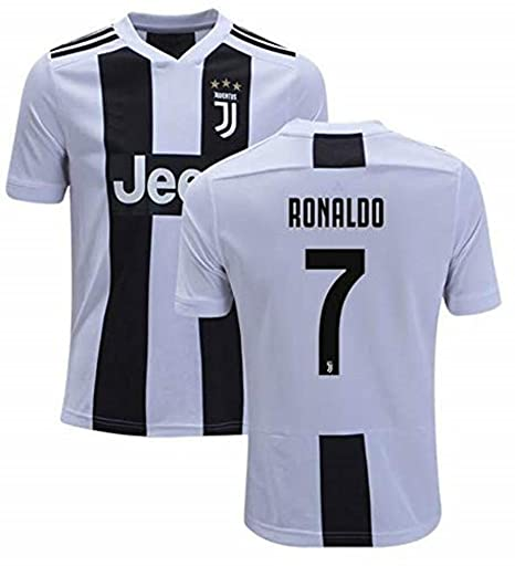 low priced c54c2 e5724 Fanatic Cristiano Ronaldo Juventus #7 Men's Soccer Jersey Home Short Sleeve  Adult Sizes