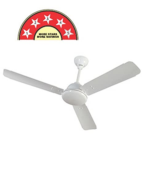 bb396098800 Buy Surya SS-32 1200mm Ceiling Fan (White) Online at Low Prices in India -  Amazon.in