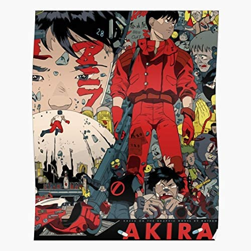 Amazon Com Archers Clip Kaneda Manga Review Akira Anime 1988 Phan The Best And Style Home Decor Wall Art Print Poster With Only Size 16x24 Inch Posters Prints
