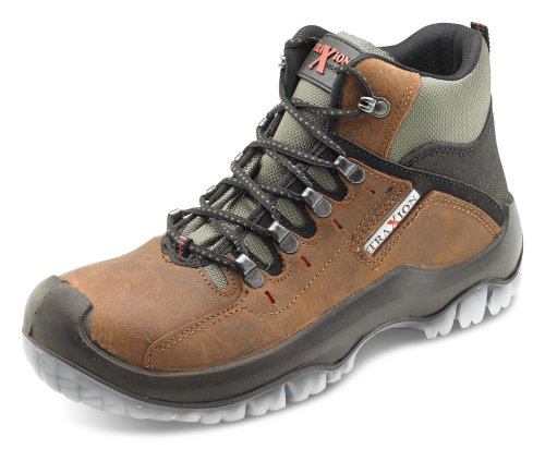 Click Traxion Boot Brown - Size 10