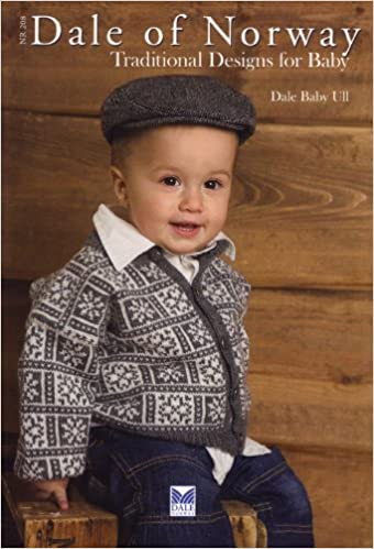 36c517d6ba5e Dale of Norway Pattern Book 208 Traditional Knits for baby  Dale of ...