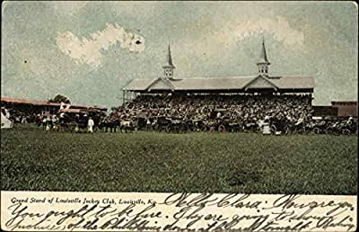 Louisville Jockey Club - Grandstand Louisville, Kentucky Original Vintage Postcard