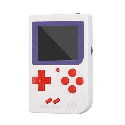 Consola de Juegos portátil MXECO Videojuego 8 bits Retro Mini Pocket Incorporado 129 Juegos clásicos para niños Jugador nostálgico