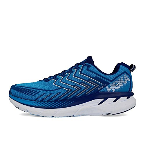 Hoka One One Clifton 4 Wide Diva Blue True Blue blu