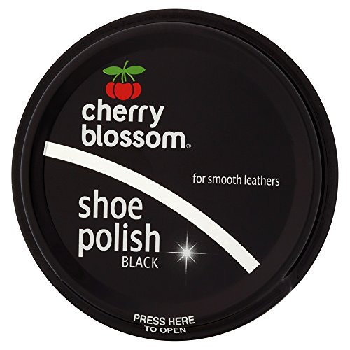 Cherry Blossom Shoe Polish Black, 50 ml