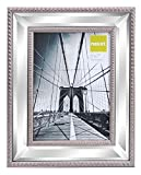 mirrored picture frames  Sutton Mirrored Picture Frame, 5 by 7 Inch, Champagne