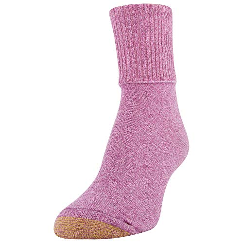 thumbnail 16 - Gold Toe Women's Classic Turn Cuff Socks, Multipai - Choose SZ/color