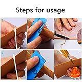 BUTUZE Convenient Leather Edge Dye Pen,Colorful