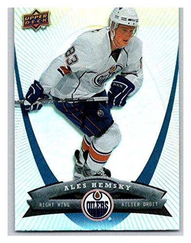 (HCW) 2008-09 Upper Deck McDonald's #22 Ales Hemsky Oilers NHL Mint