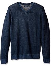 Men's Long Sleeve V-Neck Novelty Sweater