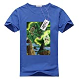 LLtshirt - Dragonball Z Shenron Tshirt, Women's Contrast Tee-shirt (Medium)