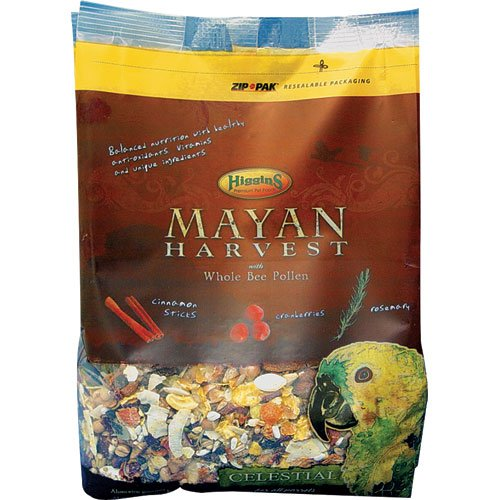 Higgins 466213 Mayan Harvest Celestial For All Parrots - 3 Pound Higgins Parrot Food