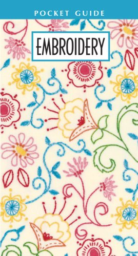 Leisure Arts Embroidery Pocket Guide, 8.5 by 4.625-Inch