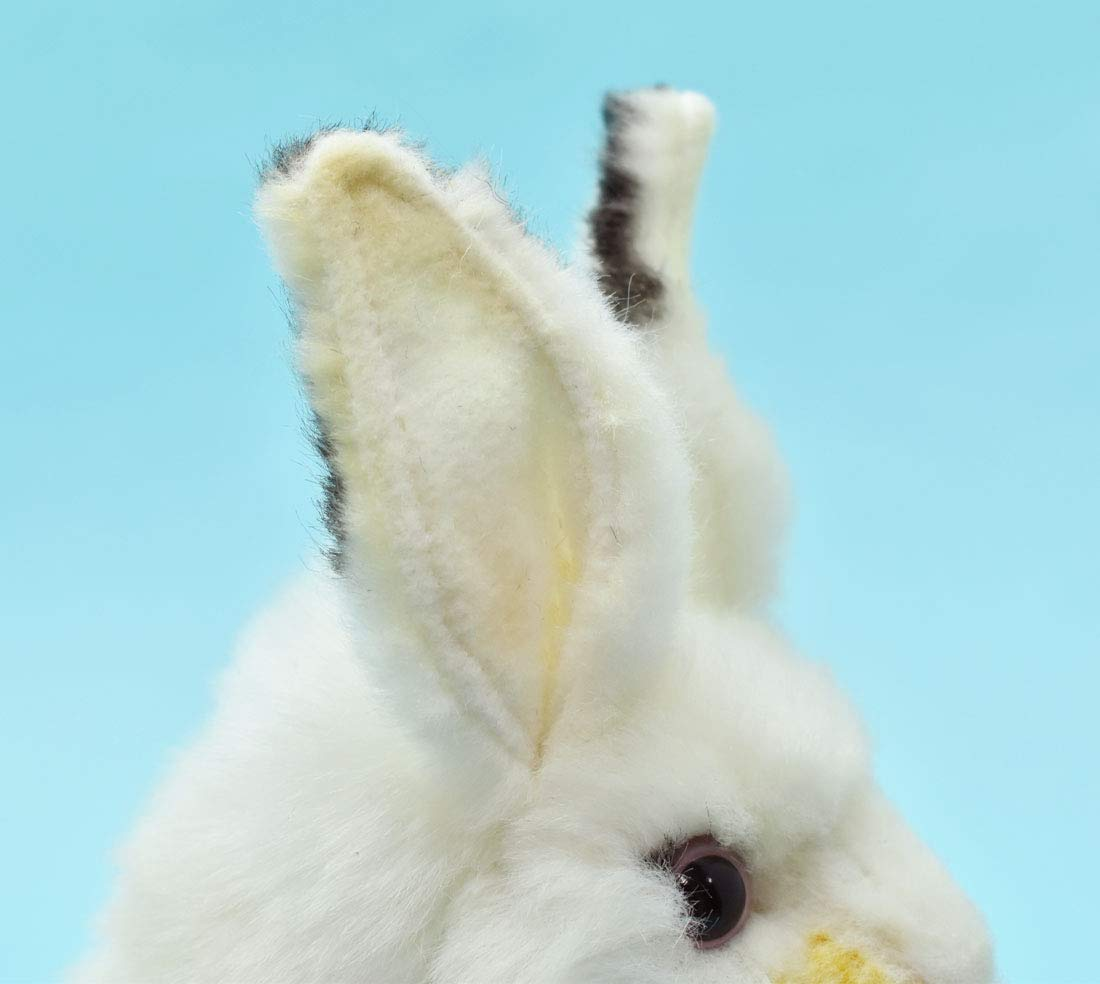 Hansa Plush 6 White Bunny Flat River Group 5842