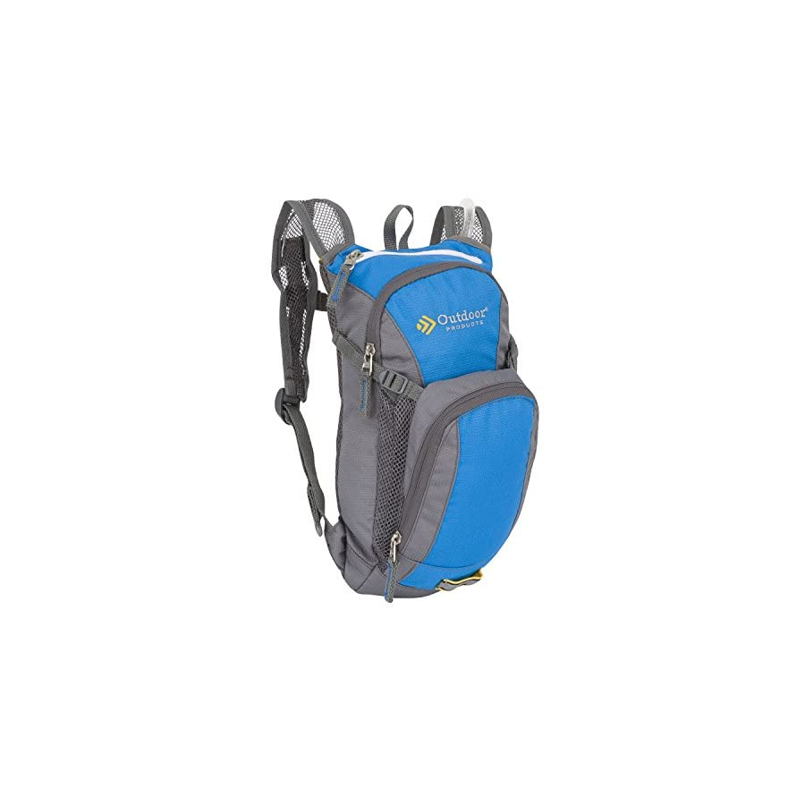 Outdoor Products Youth Hydration Pack with 2 Liter Reservoir, 3.8 Liter Storage