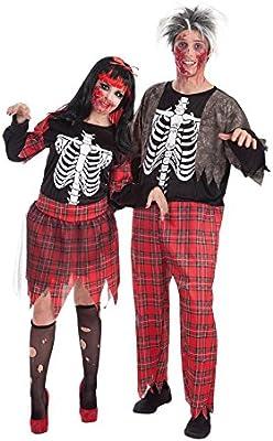 LLOPIS - Disfraz Adulto Zombie colegial: Amazon.es: Juguetes y juegos