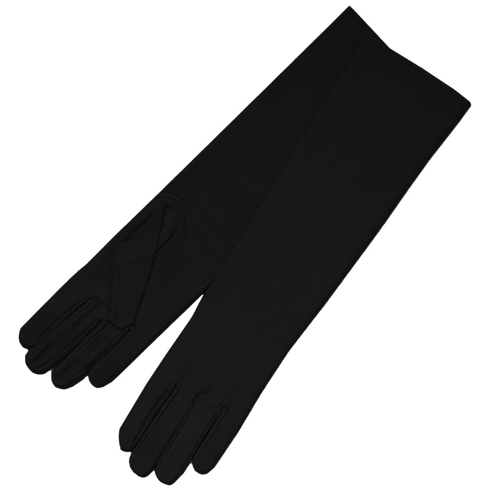 Adult Matte Finish Stretch Below Elbow Length Satin Costume Gloves (Available in 31 Colors) - DeluxeAdultCostumes.com