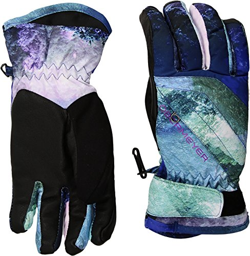 Nylon Print Gloves - Obermeyer Kids Unisex Cornice Gloves (Big Kids) Elevation Print XL
