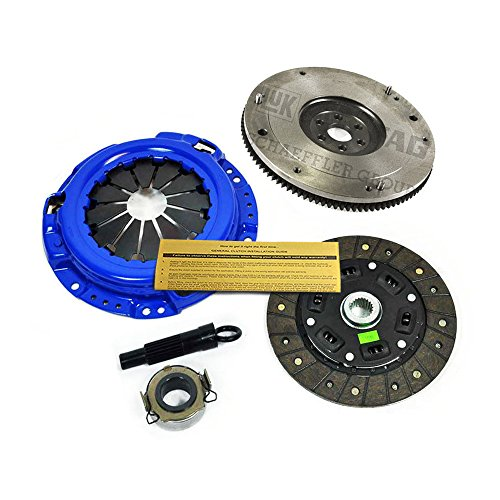 EFT STAGE 2 CARBON KEVLAR CLUTCH KIT+ HD FLYWHEEL FOR 91-99 TOYOTA PASEO TERCEL 1.5L