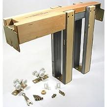 "Johnson Hardware 153068 Commercial Grade Pocket Door Frame (36"" x 80"")"