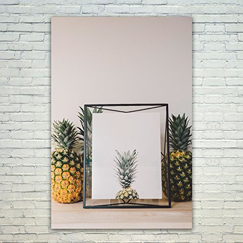 Ind Plant Food (Westlake Art Pineapple Plant - 12x18 Poster Print Wall Art - Modern Picture Photography Home Decor Office Birthday Gift - Unframed 12x18 Inch (1156-A8870))