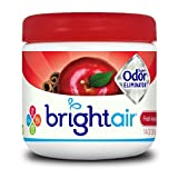 Bright Air Solid Air Freshener and Odor Eliminator, Fresh Apples and Spice Scent, 14 Ounces