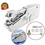 Portable Handheld Mini Sewing Machines Stitch Sew Needlework Cordless Clothes Fabrics Electric Sewing Machine For Household