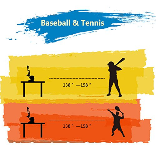 iPlay, iLearn Ball Pitching Game Machines, Baseball, Tennis, Training, Learning, Early Development, Active Toys Outdoors Sports Gaming 3, 4, 5, 6, 7 Year Olds Kids, Toddlers, Girls, Boys Gift