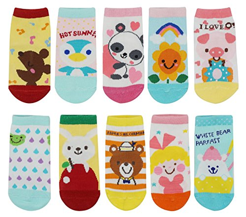 10-Pair-Baby-Toddler-Anti-Slip-Skid-Socks