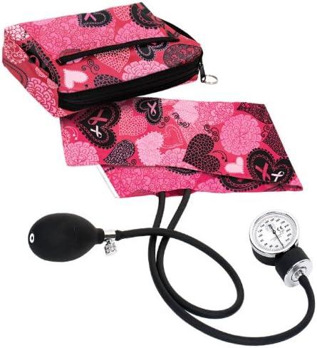 NCD Medical – Tensiómetro con estuche bolsa Arts perlas/Hearts Rosa: Amazon.es: Salud y cuidado personal