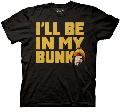 Firefly Jayne I'll Be In My Bunk T-shirt