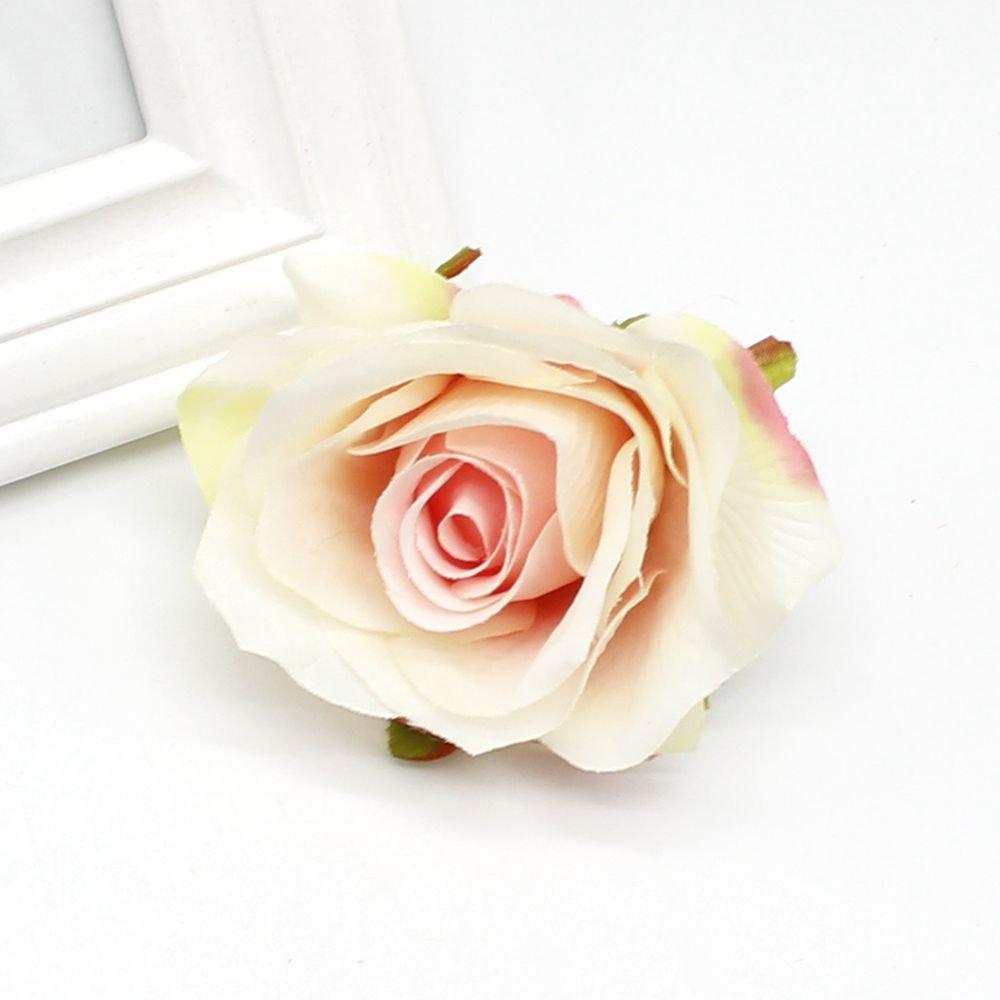 PPL21 8cm シルク造花 10個入り ローズのつぼみ ウェディング装飾 DIY リースギフトボックス スクラップブック クラフト造花 B07H575DTQ