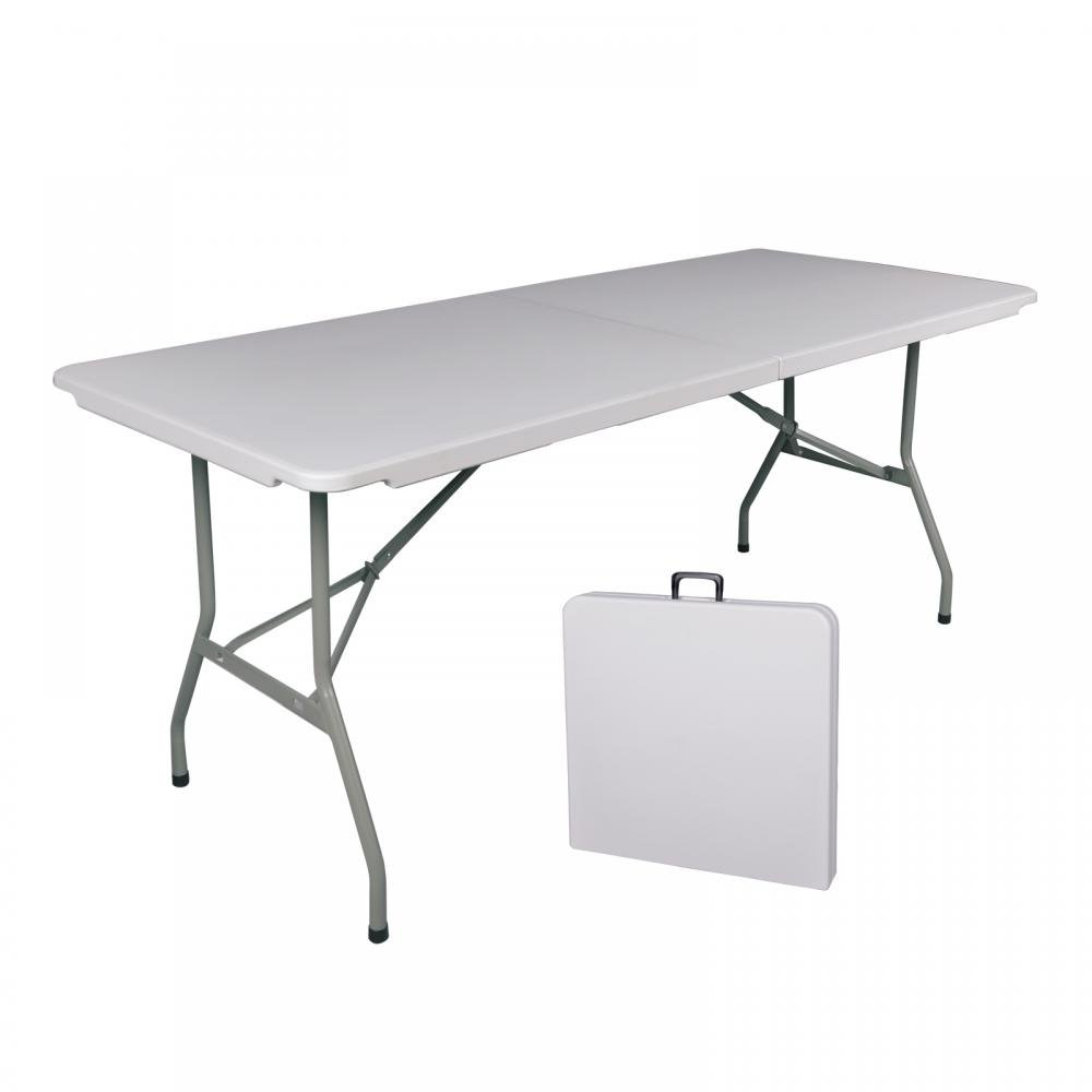 PayLessHere 6 Folding Table Portable Plastic Indoor Outdoor Picnic Dining Camp Table
